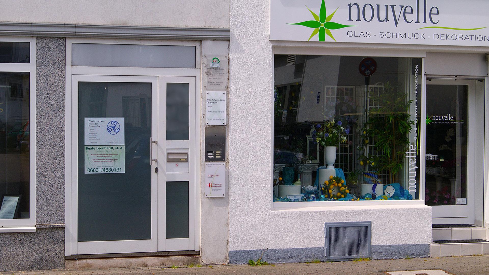 Osteopathie Schwinn-Lauer in Saarlouis, Weißkreuzstraße